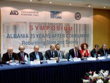 Albania 25 years after: rebuilding the state and society